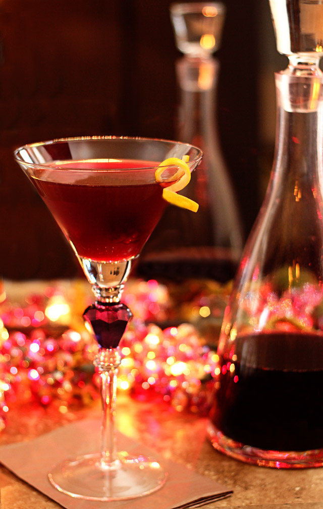 How to Make Raspberry Liqueur (Chambord) and a Raspberry Cosmopolitan