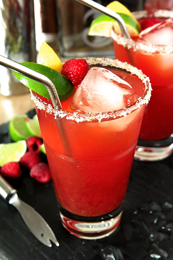Raspberry Iced Tea Margarita