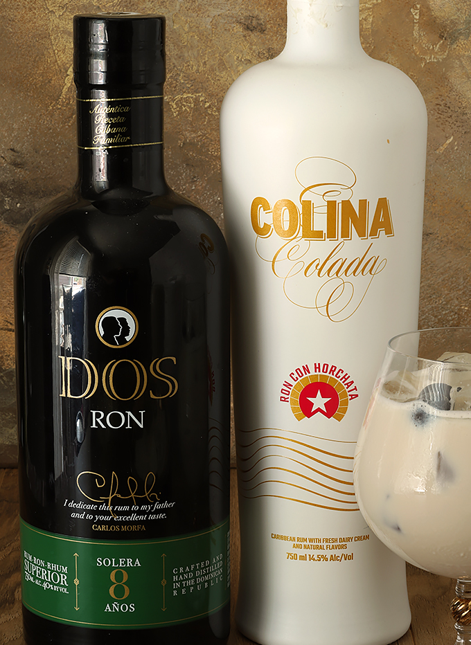 Rum Colada on the Rocks Ingredients