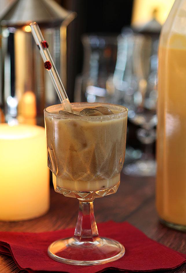 Salted Caramel Liqueur - Creative Culinary