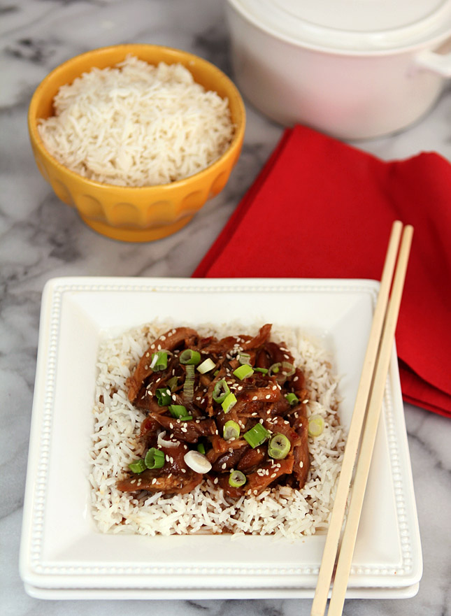 Sesame Chicken - Slow Cooker Version