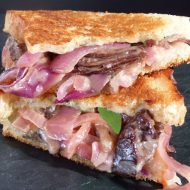 Grilled Cheese/Short Rib Sandwich