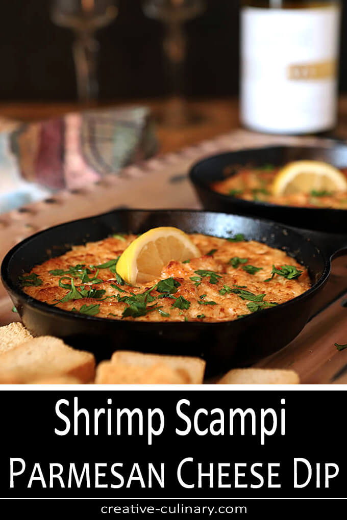 Shrimp Scampi Parmesan Cheese Dip PIN