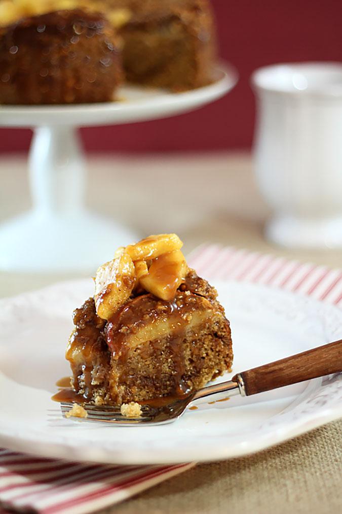 Caramel Apple and Walnut Streusel Coffee Cake | Creative ...