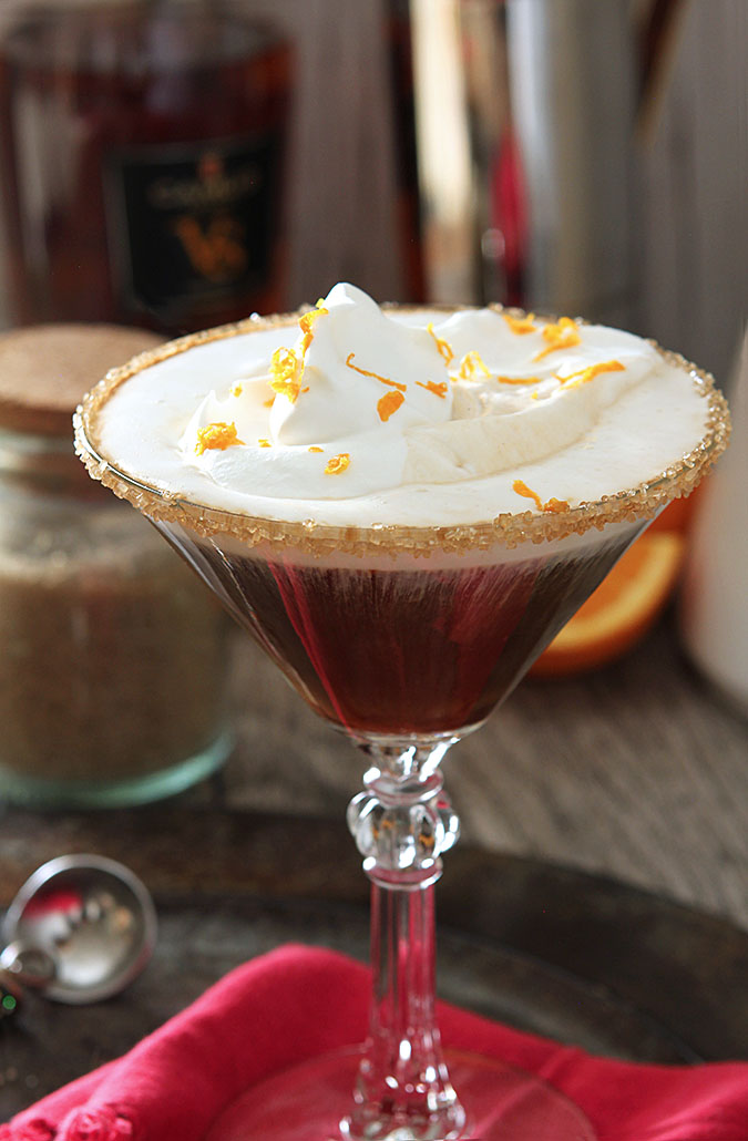Spanish Coffee with Espresso and Brandy