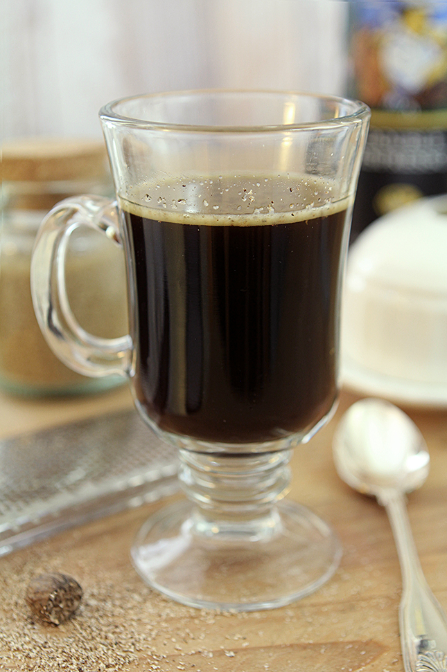 Spiked Bulletproof Coffee from Creative-Culinary.com