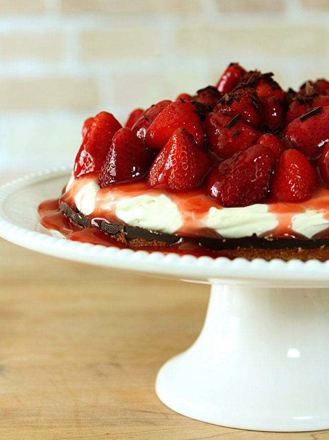 tart drunken pumpkin bourbon tart with mascarpone cream strawberry ...