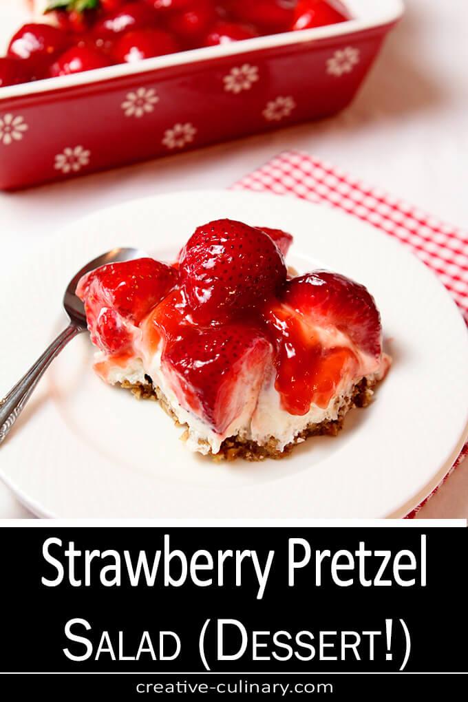 Strawberry Pretzel Salad PIN
