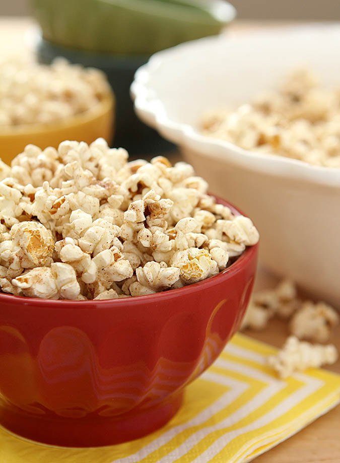 Sugar and Pumpkin Spice Popcorn