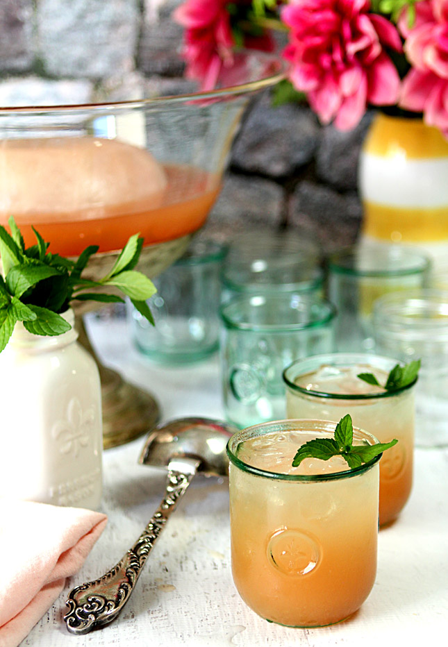 Texas Bourbon Grapefruit Punch