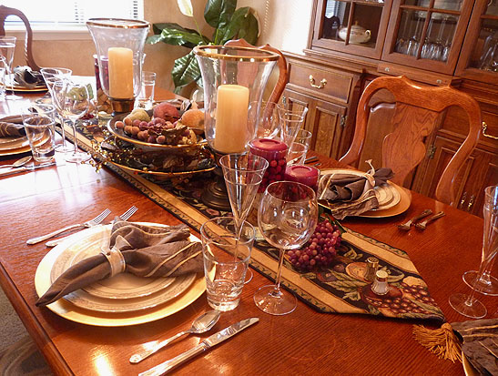 Thanksgiving Dishes - Appetizers, Turkey, Stuffing, Side Dishes, Mashed Potatoes, Risotto, Salads, Pie, Cakes, Desserts