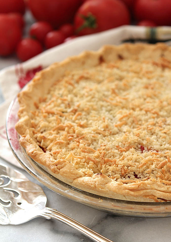 Fresh Tomato Summer Pie