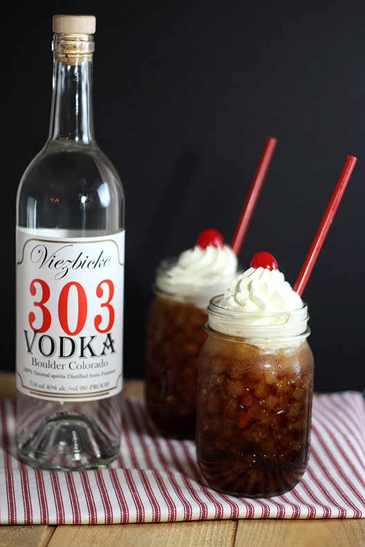 303 Vodka and Rootbeer Cocktail
