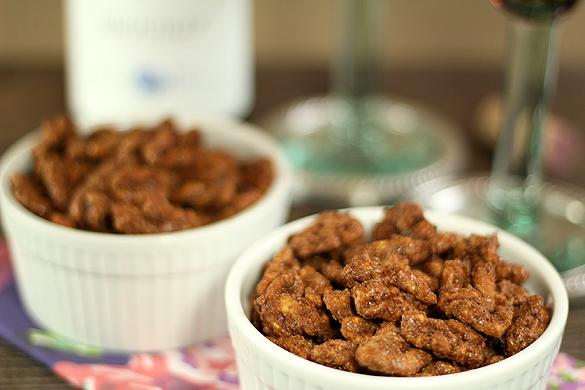 Cocoa, Cayenne and Espresso Roasted Walnuts