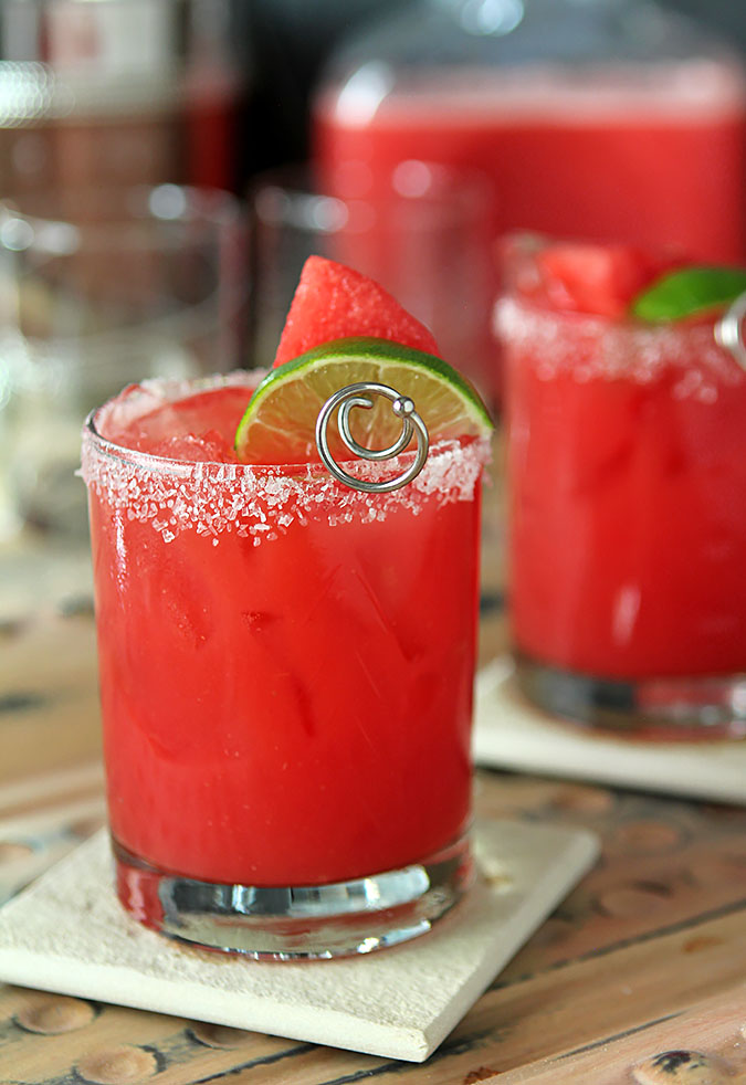 Fresh Watermelon Margarita