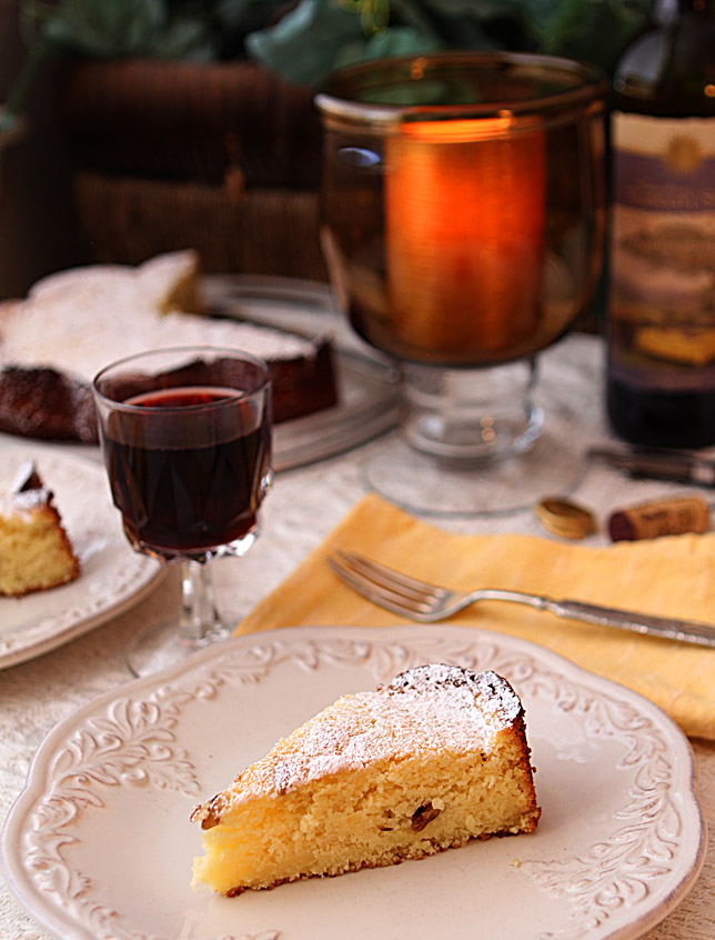Wine Cake from The Tuscan Sun Cookbook | creative-culinary.com