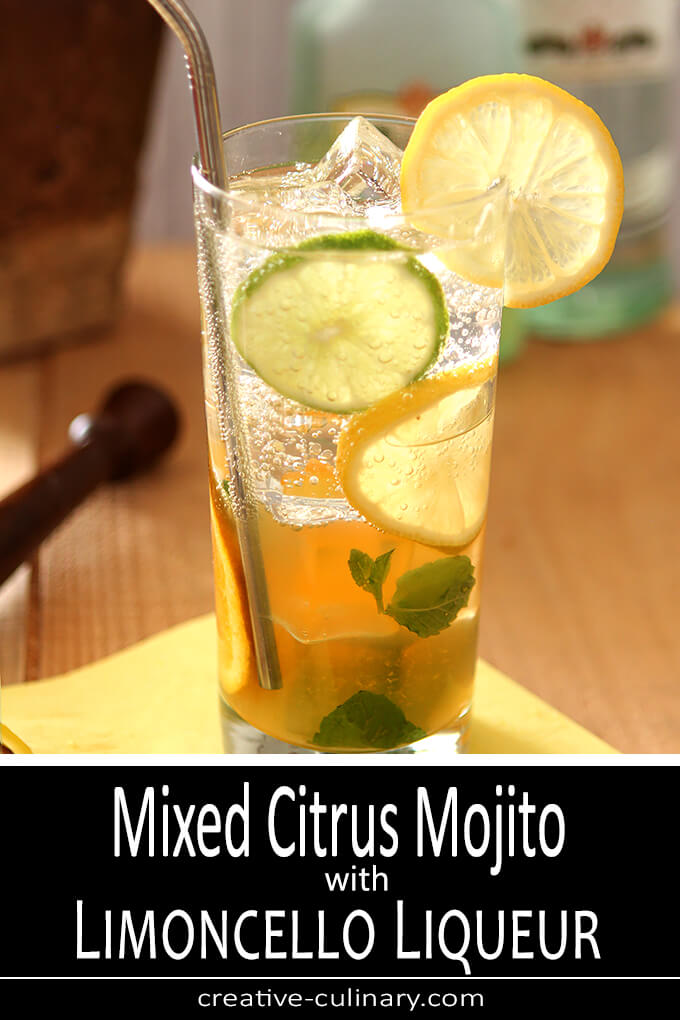 Mixed Citrus Mojito with Limoncello PIN